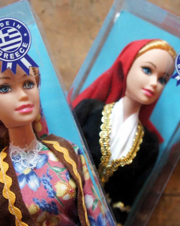 Κούκλες με παραδοσιακές φορεσιές