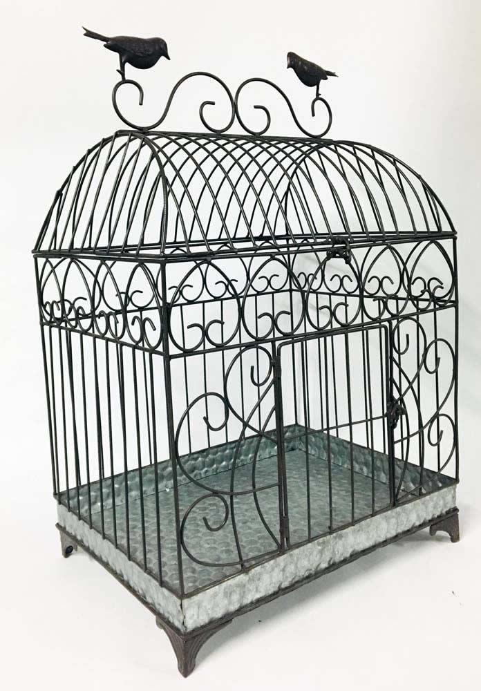 Διακοσμητικό κλουβί με πουλιά (large)