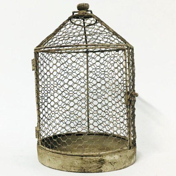 Συρμάτινο διακοσμητικό κλουβί (small)