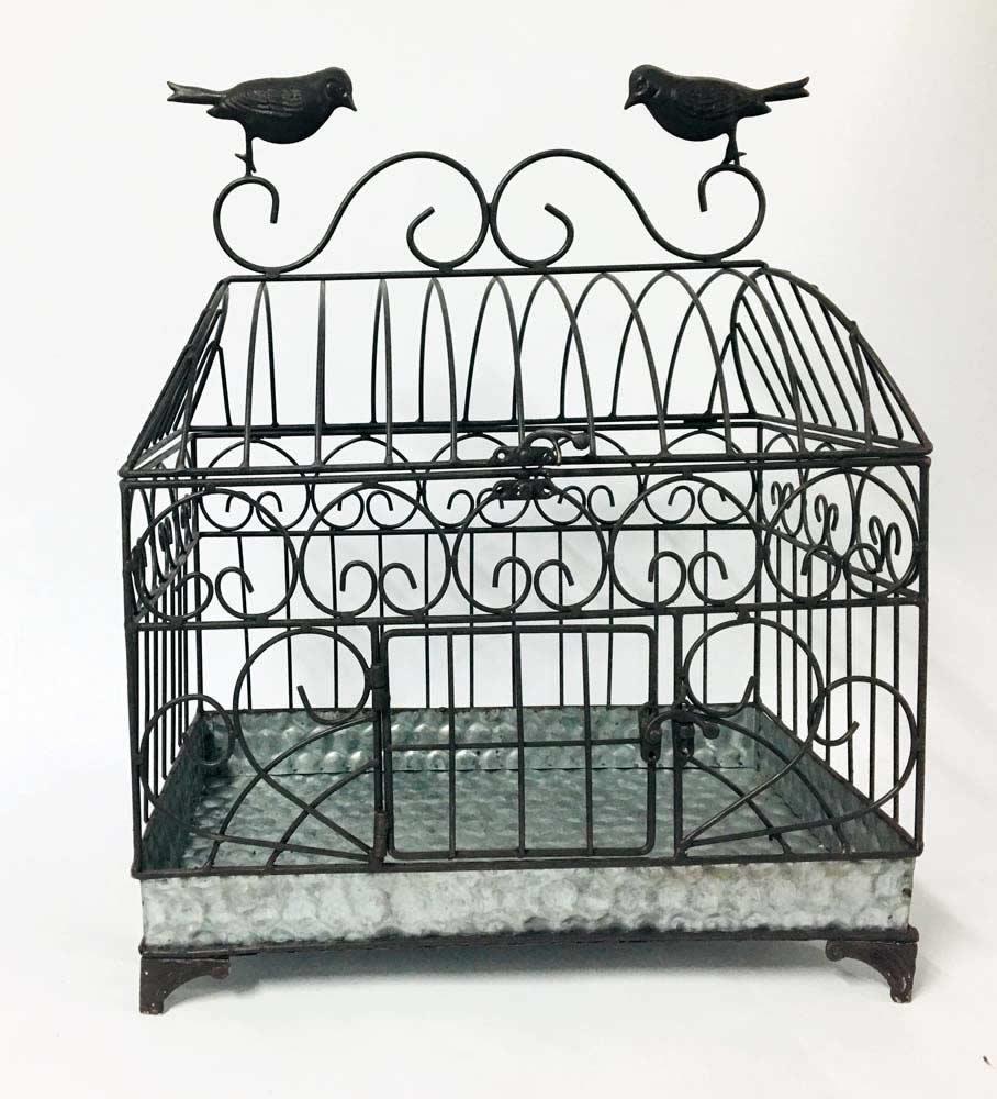 Διακοσμητικό κλουβί με πουλιά (small)