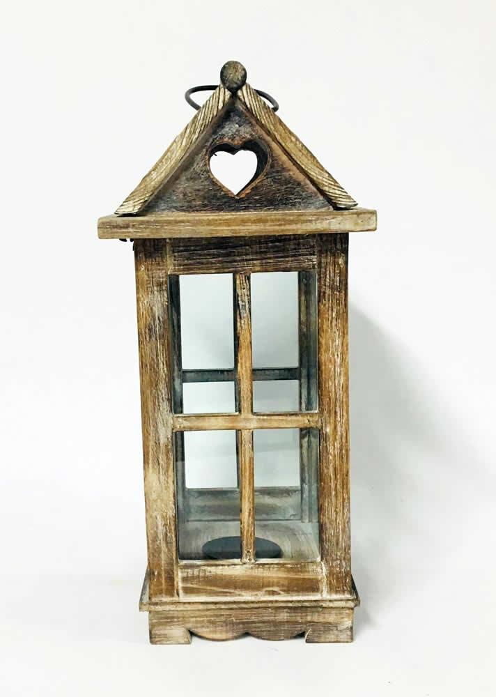 Φανάρι ξύλινο σπιτάκι (small)