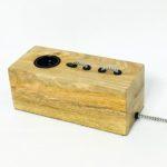 Επιτραπέζιο ξύλινο φωτιστικό