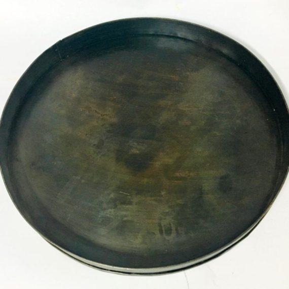 Δίσκος σερβιρίσματος μεταλλικός στρογγυλός