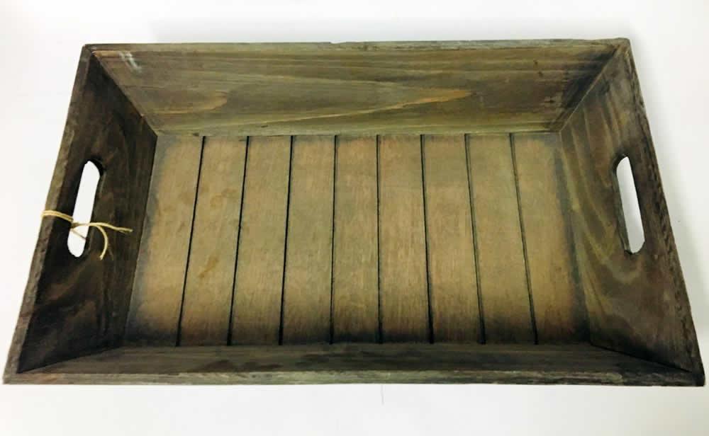 Δίσκος σερβιρίσματος ξύλινος