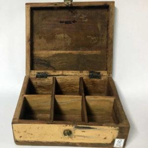 Κουτί αποθήκευσης ξύλινο