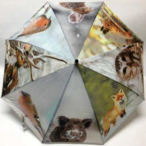 Ομπρέλα με σχέδια ζώα του δάσους
