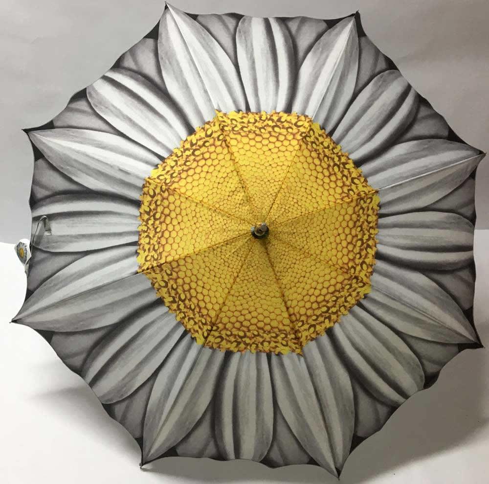 Ομπρέλα με σχέδιο μαργαρίτα