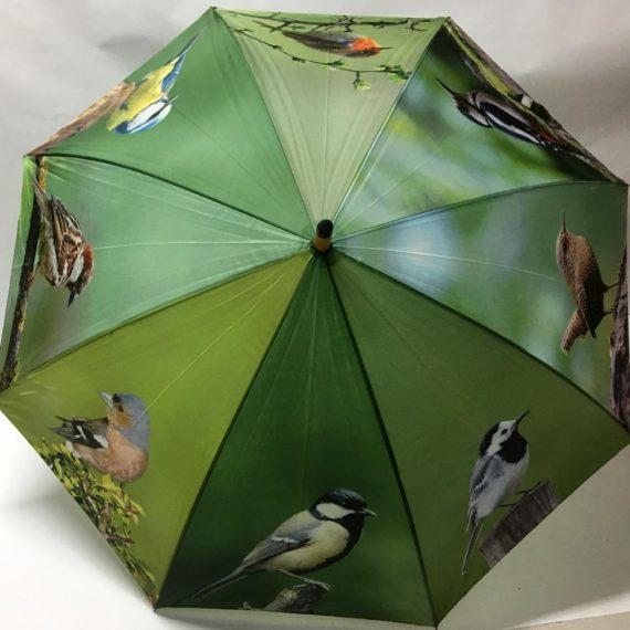 Ομπρέλα με σχέδια πουλιά