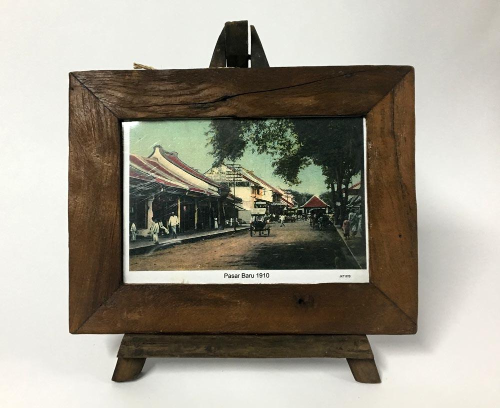 Κορνίζα ξύλινη με τρίποδα (medium)