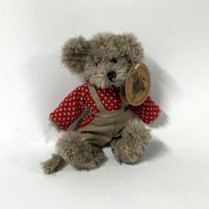Λούτρινο αρκουδάκι με σαλοπέτα