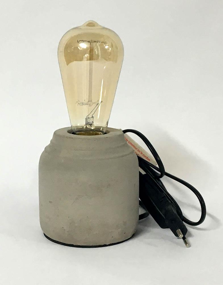 Φωτιστικό πέτρινο στρογγυλό