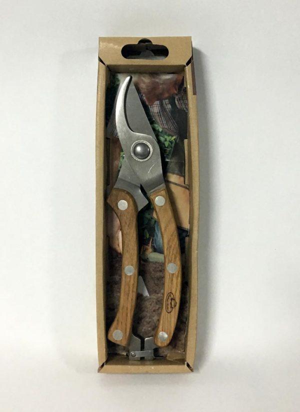 Κλαδευτήρι με ξύλινη λαβή