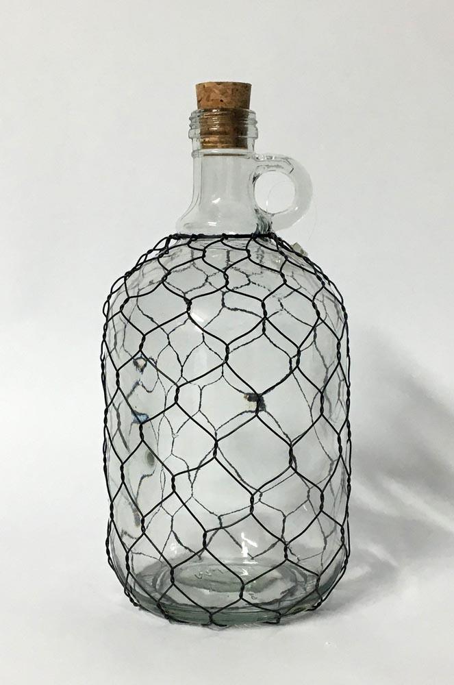 Μπουκάλι - πλέγμα με χερούλι (large)