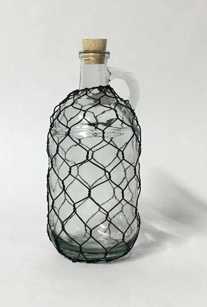 Μπουκάλι - πλέγμα με χερούλι (small)