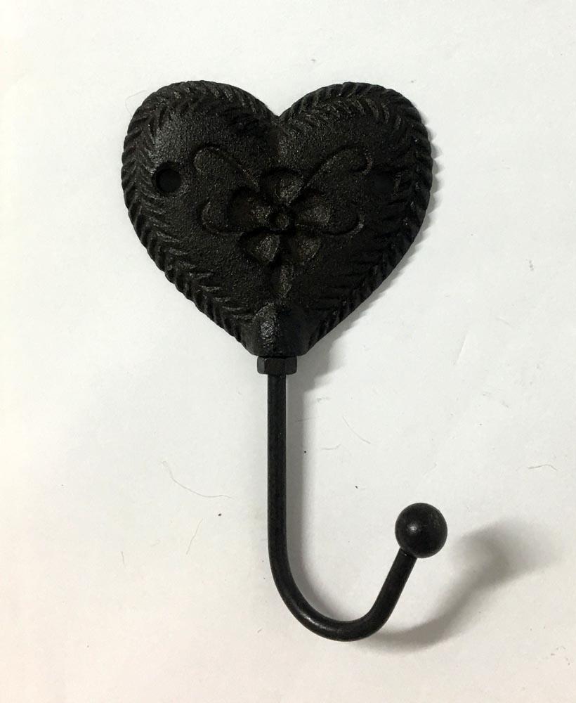 Γάντζος σφυρήλατος -καρδιά